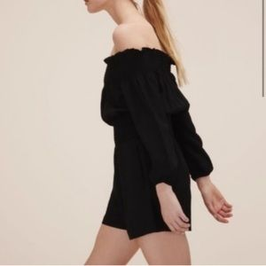 Maje Off The Shoulder romper